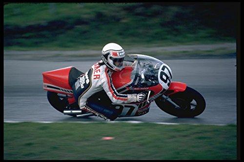 631003 Steve Baker 750 CC Yamaha Mosport A4 Photo Poster Print 10x8