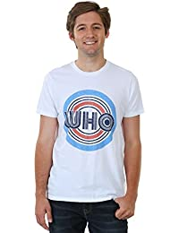 Junk Food The Who Vintage Who Men's T-Shirt