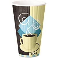 SOLO IC16-J7534 Duo Shield Insulated Hot Cup, 16 oz. Capacity, Tuscan Cafe (Case of 525) by Solo Foodservice