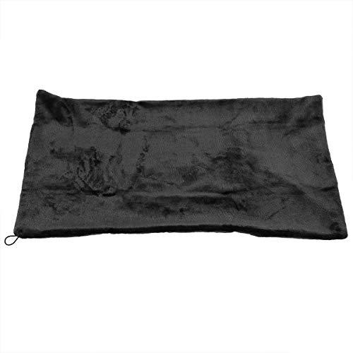 Borlai Mode Winter Erwärmung Hals Hand Oberschenkel Plüsch Elektrische Heizung Schal Tragbare USB Powered Home Indoor Weich Erhitzter Schal (Größe : 45x80cm) - Plüsch-schals