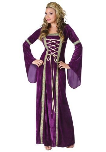 Kostüm Faire Renaissance - Unbekannt Renaissance Lady Fancy Dress Costume X-Small