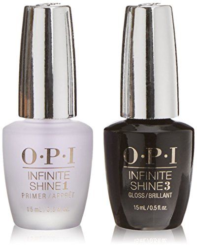 OPI, Set di 2 smati per unghie: INFINITE SHINE 1 PRIMER + INFINITE SHINE 3 GLOSS