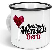 Positive Eigenschaften Tasse mit Namen Berti