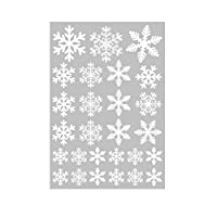 Betteros Christmas Snowflakes Decals PVC Windows Stickers Snowflakes Christmas, Removable Static Stickers For Store, Home, Chrismas