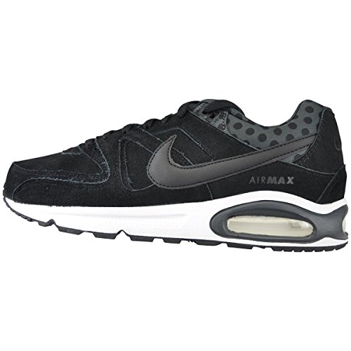 Nike Air Max Command Premium PRM schwarz Herren Sneaker mit Socken Schwarz 7yaQG