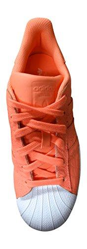 adidas Superstar, Scarpe da Ginnastica Donna coral white AQ2721
