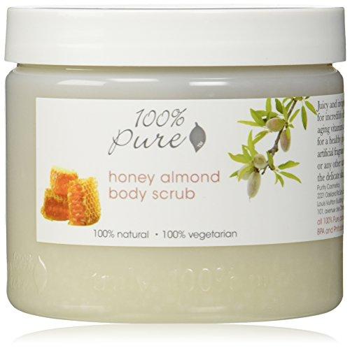 100% Pure - Gommage pour le Corps au Miel et Amande - Honey Almond - 15oz