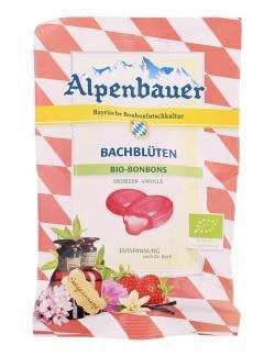 Alpenbauer Bachblüten Entspannung Erdbeer mit Vanille Bio Bonbons Menge:75g