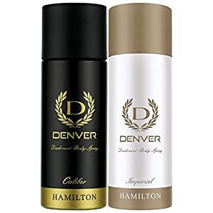 Denver Deo Combo, Calibre and Imperial, 165ml (Pack of 2)