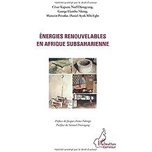 Energies Renouvelables en Afrique Subsaharienne