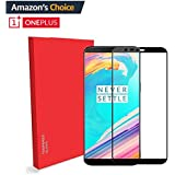 One Plus 5T [Shatterproof] 2.5D Edge To Edge Tempered Glass Screen Protector For Oneplus 5T / One Plus 5t - Black