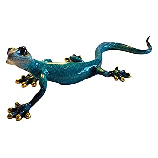 Aljec Speckled Gecko, Blue, Large