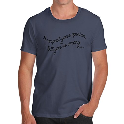 TWISTED ENVY  Herren T-Shirt Navy