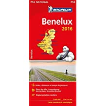Carte Benelux 2016 Michelin