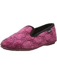 Natleat Slippers Womens slippers 59/pad - Zapatillas de estar por casa de Piel para mujer Amarillo crema oclYb7
