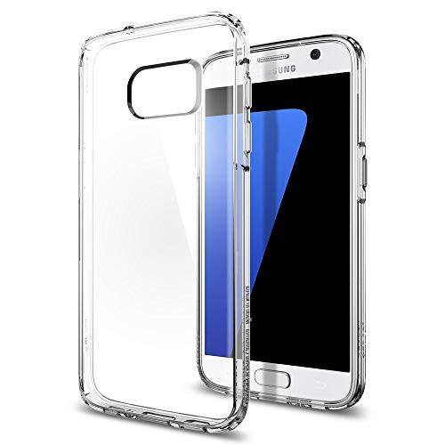 9e8072b19d3 Spigen Galaxy S7 Case Ultra Hybrid Funda Transparente - Fundas para  teléfonos móviles (Funda,