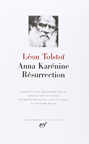 Anna Karénine - Résurrection par Léon Tolstoï
