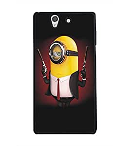 PRINTSWAG CARTOON CHARACTER Designer Back Cover Case for SONY XPERIA Z