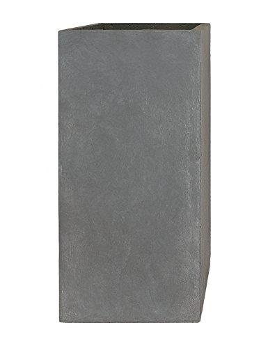 pflanzwerkr-pot-de-fleur-tower-gris-70x33x33cm-resistant-au-gel-protection-uv-qualite-europeenne