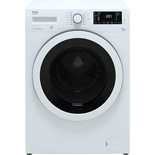 Beko WDR8543121W 8kg Wash 5kg Dry 1400rpm Freestanding Washer Dryer - White