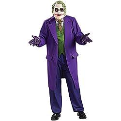 Rubbies - Disfraz de Joker para hombre, talla única (I-888632STD)