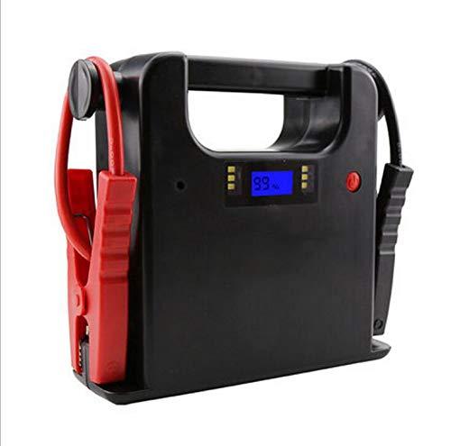 FYLY-Pico 700A Arrancador de Baterías de Coche, Portátil Emergencia Arrancador de Energía, Jump Starter Con Pantalla LCD y Linterna, Para Automoción, Motocicleta, Tractor,24v42000mah