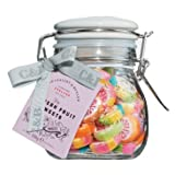 Cartwright & Butler Pattern Fruit Sweets, jar, Fruchtbonbons, 1er Pack (1 x )