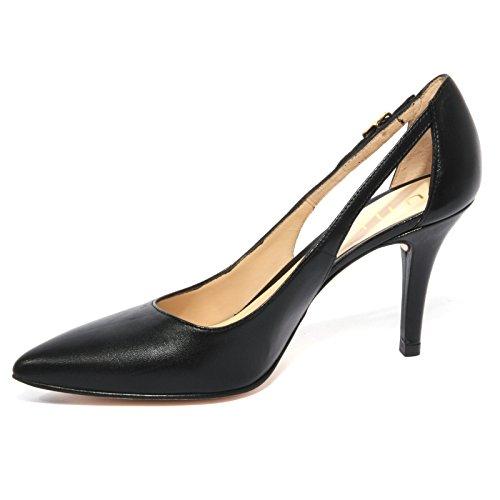 B1121 decollete donna UNISA TERSIS scarpa nera shoe woman Nero