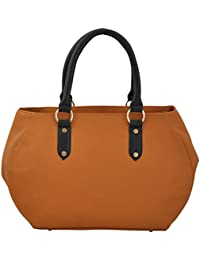 P&L Tan Hand Bag For Women BKL0005