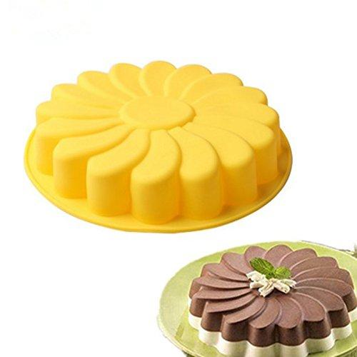 Inovey Diy 3D-Sonnenblume Form Gebacken Kuchen Backenform Kuchen Dekoration Werkzeuge Farbe Random