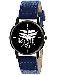 Scarter Mahadev Black Dial Analog Watch For Boys And Men-MH-Black-7