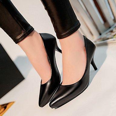 Moda Donna Sandali Sexy donna tacchi Primavera / Estate / Autunno tacchi / Punta PU Office & Carriera / Casual Stiletto Heel Altri White