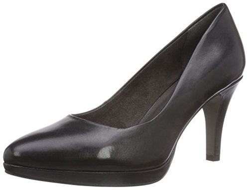 Tamaris 22405, Chaussures à talons - Avant du pieds couvert femme Noir - Noir