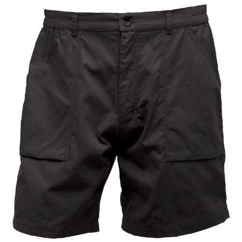 Preisvergleich Produktbild Regatta Herren Action Sport-Shorts (Bund 107cm (W42)) (Schwarz)