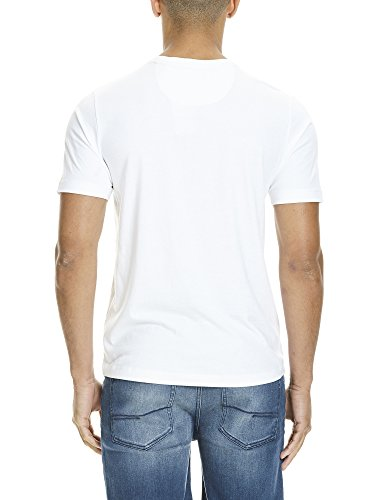 Bench Herren T-Shirt Graphic Tee Weiß (Bright White WH11185)