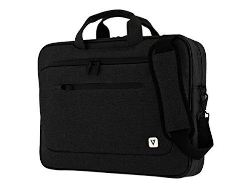V7 CTPX1-BLK-1E Mallette pour ordinateur portable mince 15,6' avec bandoulière - No