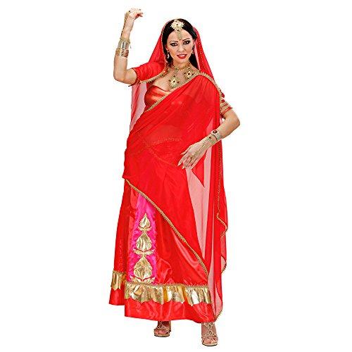 Widmann 73843 Erwachsenenkostüm Bollywood Tänzerin, 44