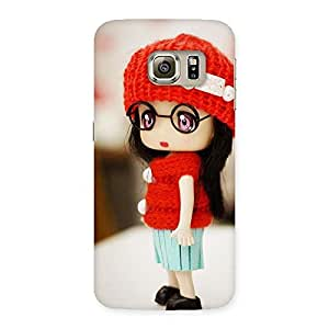 Voila Cuty Tiny Little Angel Back Case Cover for Samsung Galaxy S6 Edge