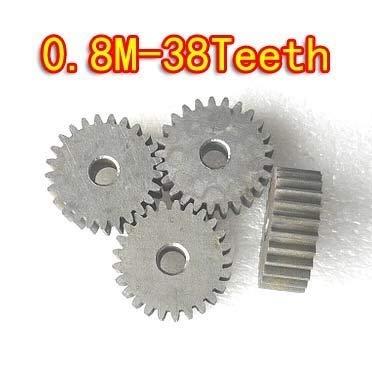 XUBF-GEAR, Zahnradgetriebe, 0,8 m - 38 Zähne,