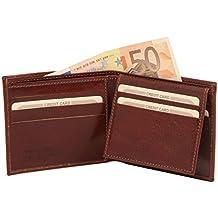 Tuscany Leather Elegante cartera de señor en piel Billeteras