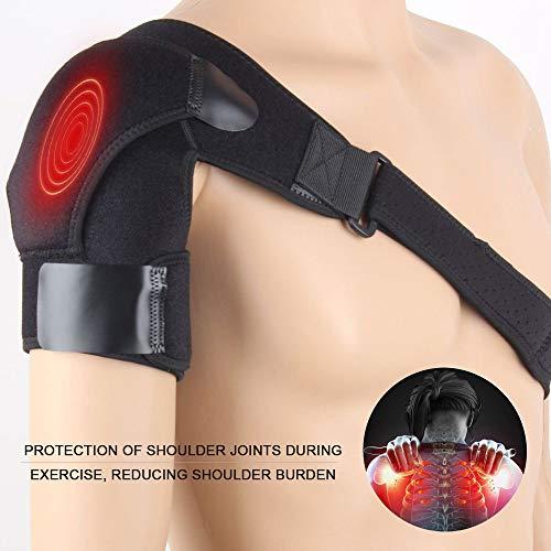 Schulterbandage Verstellbare Schulter Unterstützung Bandage für Verletzungen, Schulterschmerzen, arthritische Schultern, Neopren Schulterwärmer für Linke/Rechte Schulter für Damen/Herren