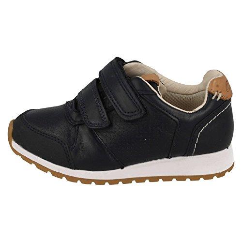 Clarks Zest Tex, Sneakers Basses Garçon Navy