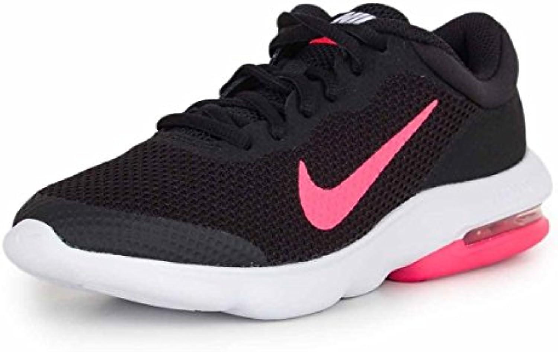 nike air max course avantage (gs) les chaussures de course max (6,5 gros gamin m, noir / racer rose - blanc) 051d47
