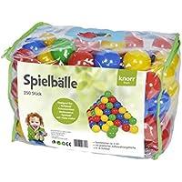 Knorrtoys 56783 - Bälleset Ø6 cm - 250 balls/colorful/ in der Tasche preisvergleich bei kleinkindspielzeugpreise.eu