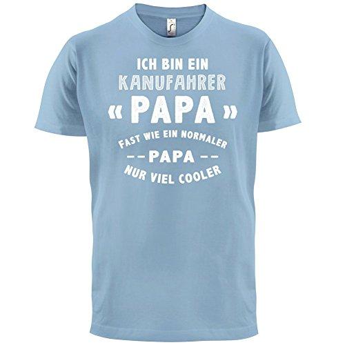 Ich bin ein Kanufahrer Papa - Herren T-Shirt - 13 Farben Himmelblau