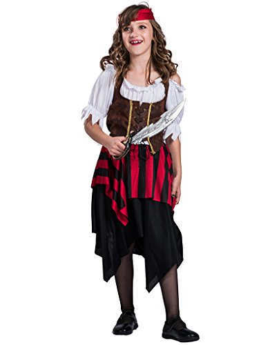 EraSpooky Mädchen Piraten Matey (Seas Hoch Pirat Kostüme)