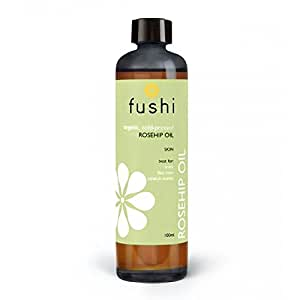 Fushi Rosehip Seed Organic Oil 100ml Extra Virgin, Biodynamic Harvested Cold Pressed