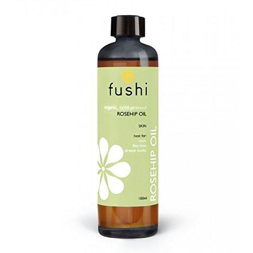 Fushi Rosehip Seed Organic Oil 100ml Extra Virgin, Biodynamic Harvested Cold Pressed