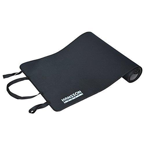 Hansson.Sports EVA Yogamatte Fitness Pilates Gymnastik schwarz
