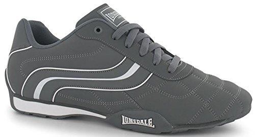 Lonsdale , Baskets mode pour homme Taille unique gris/blanc